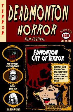 Horror Film Festival Promo Image