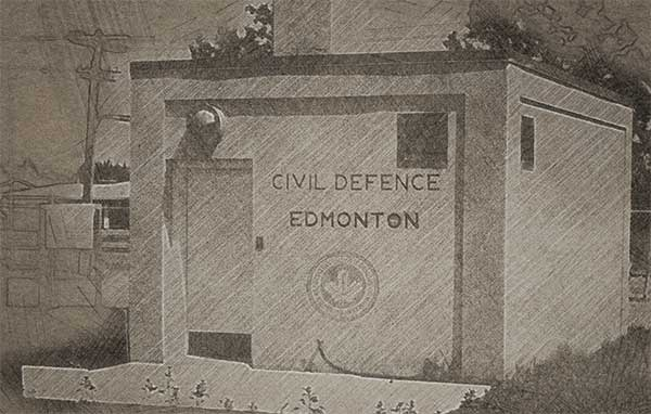 Edmonton Civil Defence Bunker